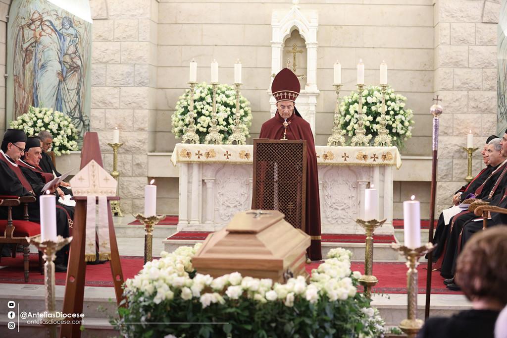 عظة البطريرك الراعي في جنازة المطران يوسف بشارة