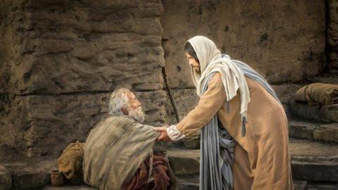 حوارٌ بين المخلّع ويسوع