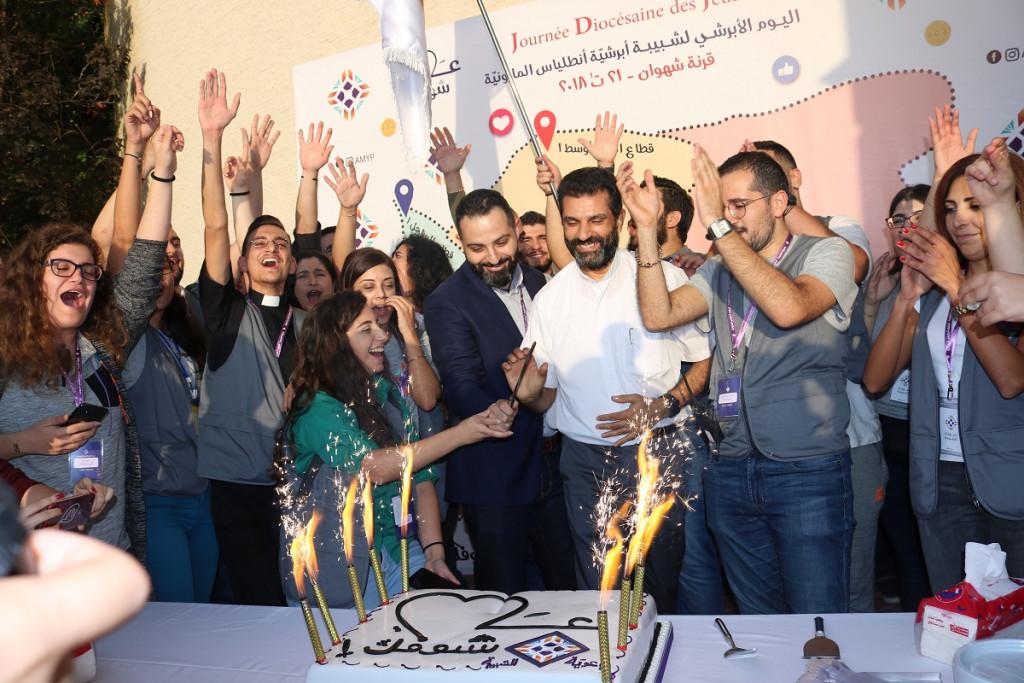 عندما يتحدّى الرب شباب الكنيسة المارونية في قلب لبنان!