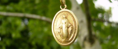مريم العذراء التي حُبل بها بلا دنس