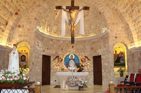 عيد سيّدة فاطيما في دير القدّيسة فيرونيكا جولياني - القصيبة