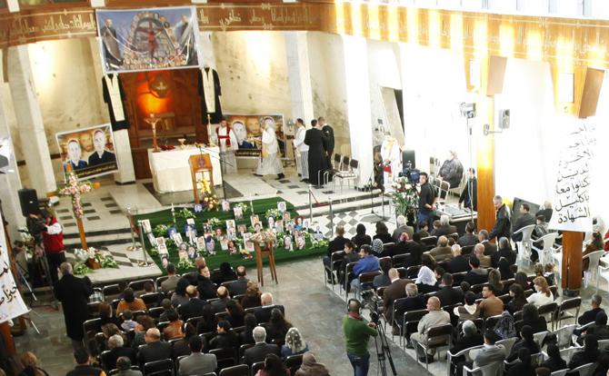 قافلة من شهداء كنيسة العراق على درب القداسة