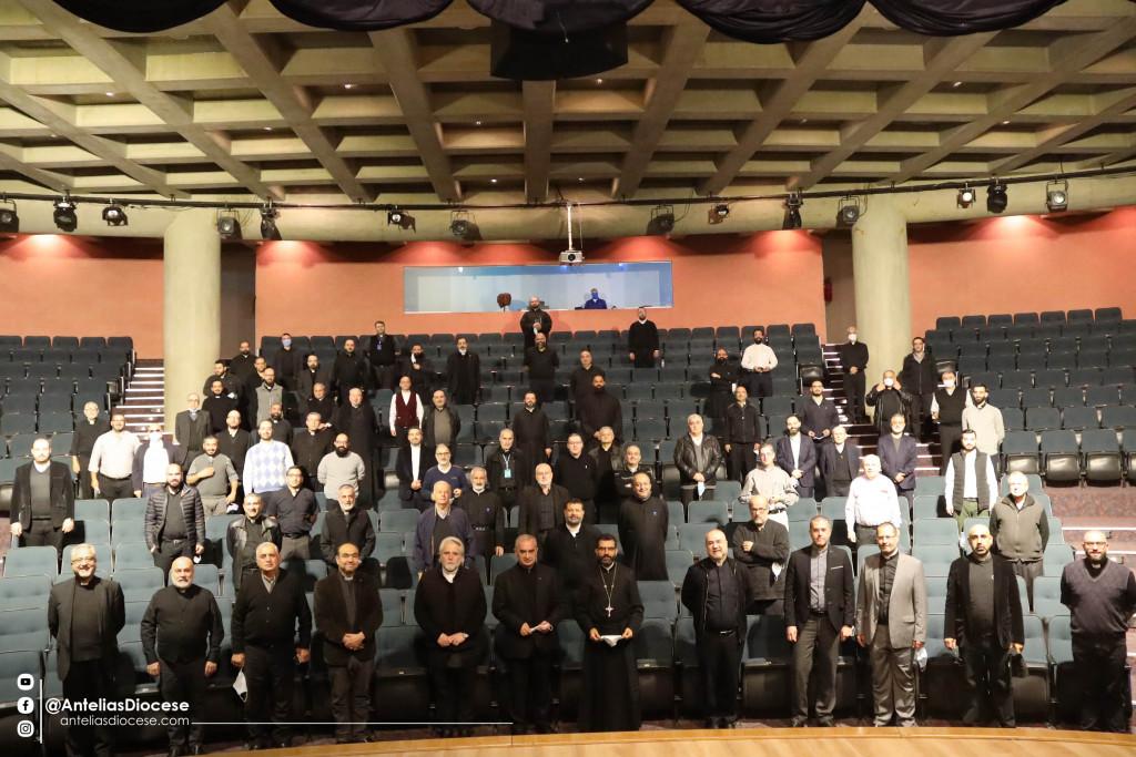 الإجتماع العامّ الأوّل لكهنة أبرشيّة أنطلياس المارونيّة مع راعيهم الجديد