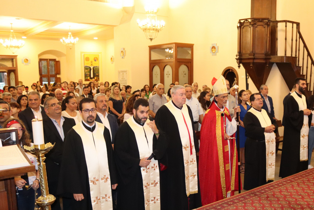 عيد مار عبدا في بكفيّا