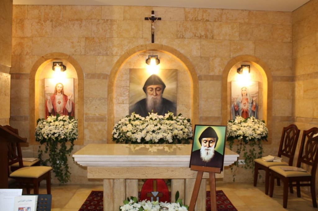 قداس ورتبة تكريس مذبح كابيلا مار شربل - بيت الشعّار